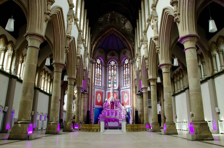 Manchester Monastery set ready for beautiful wedding